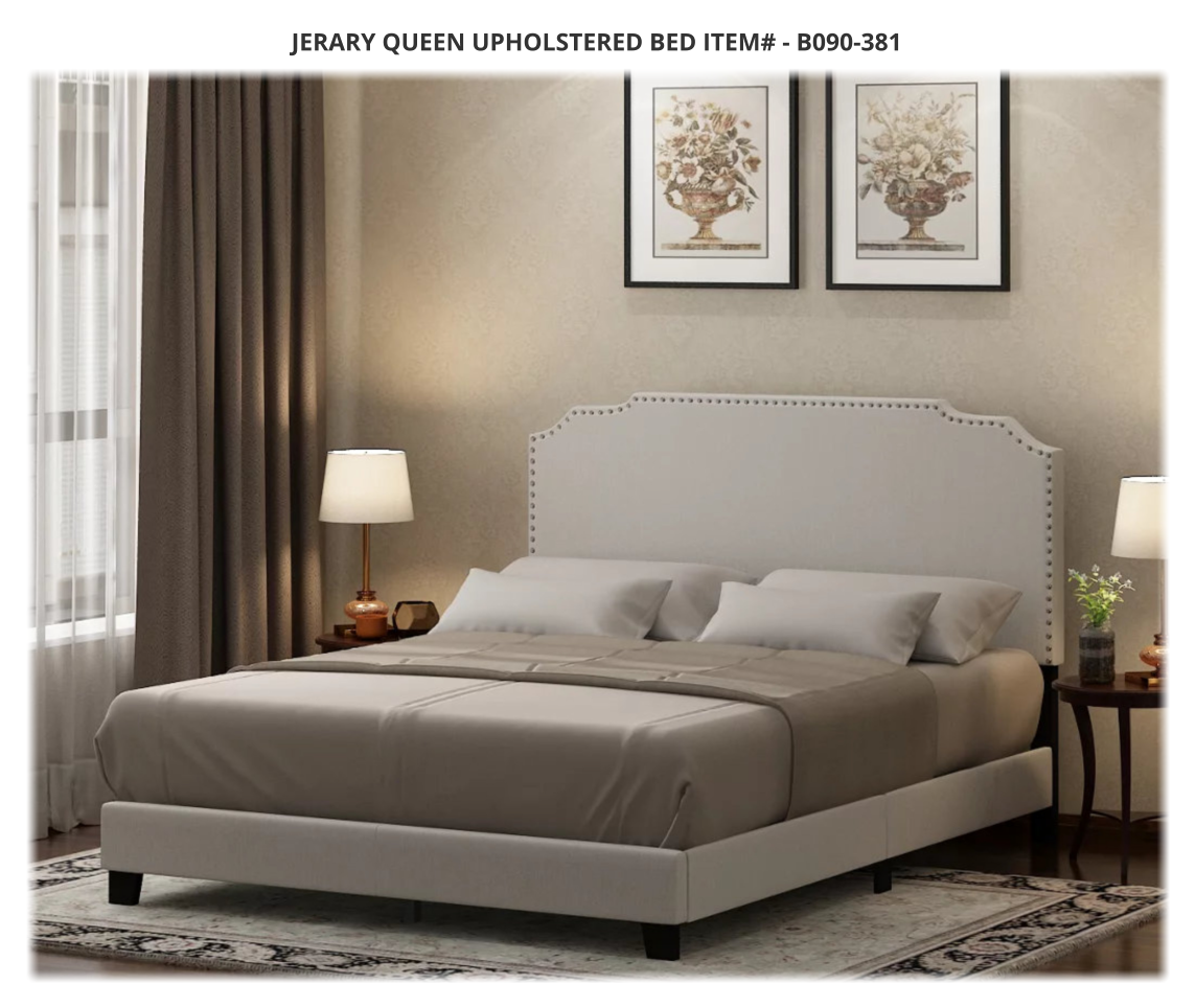 Ashley Upholstered Beds At Jerry S Furniture In Jamestown Nd